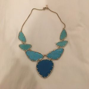 Kendra Scott Turquoise Statement Necklace